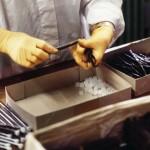 Vanilla glass tube production